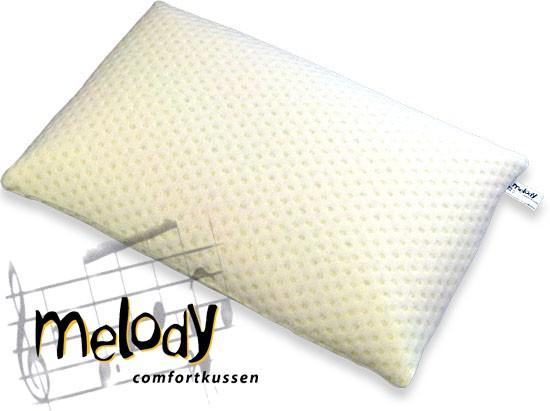 Melody hoofdkussen 12 cm (natuurrubber)